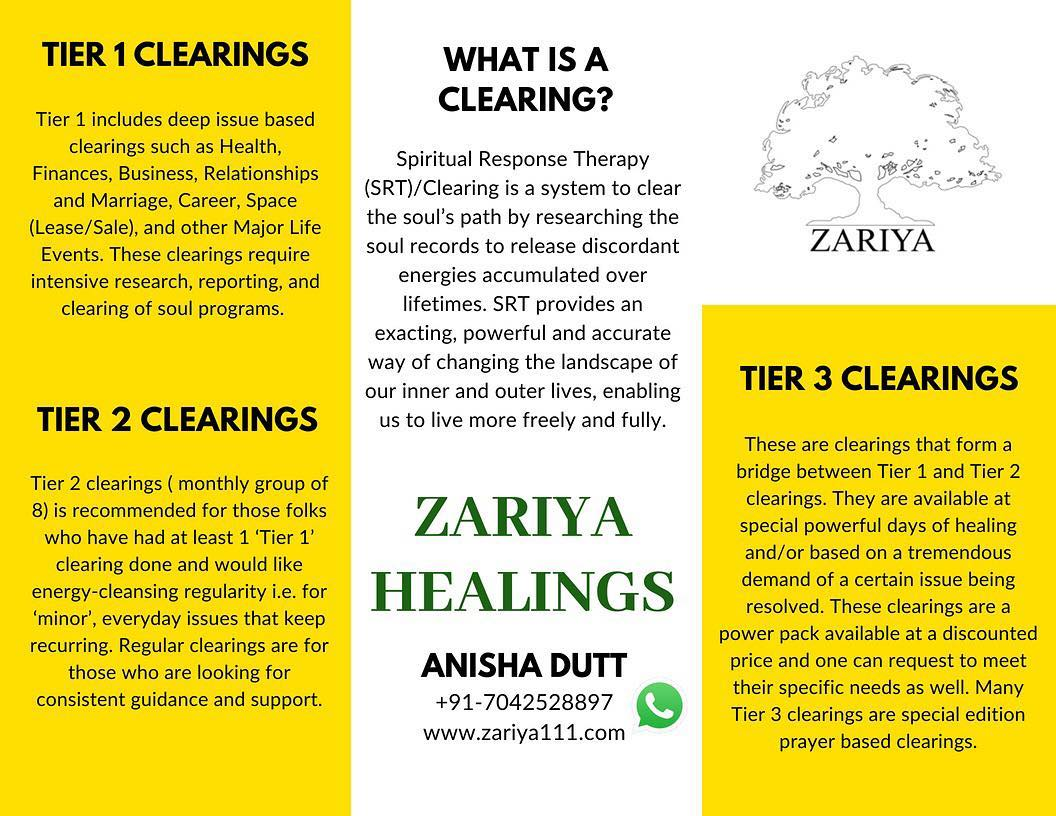 Spiritual Response Therapy and Coaching - Zariya